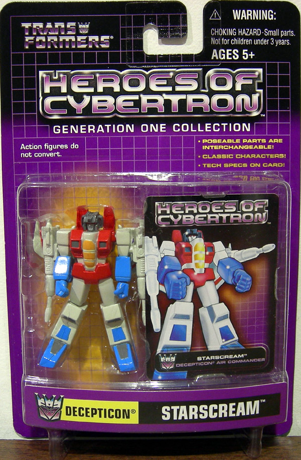 Starscream (Heroes of Cybertron)