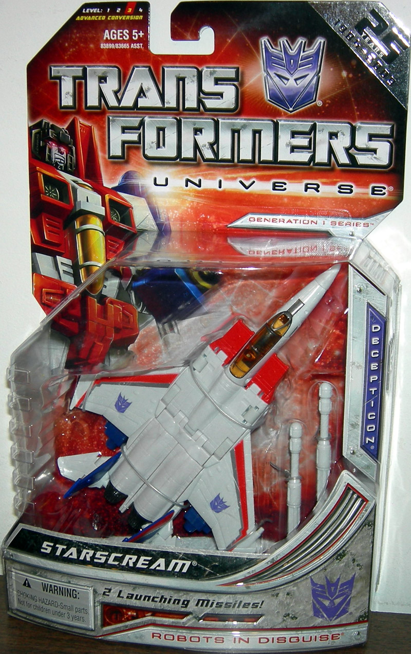 Starscream (25th Anniversary)