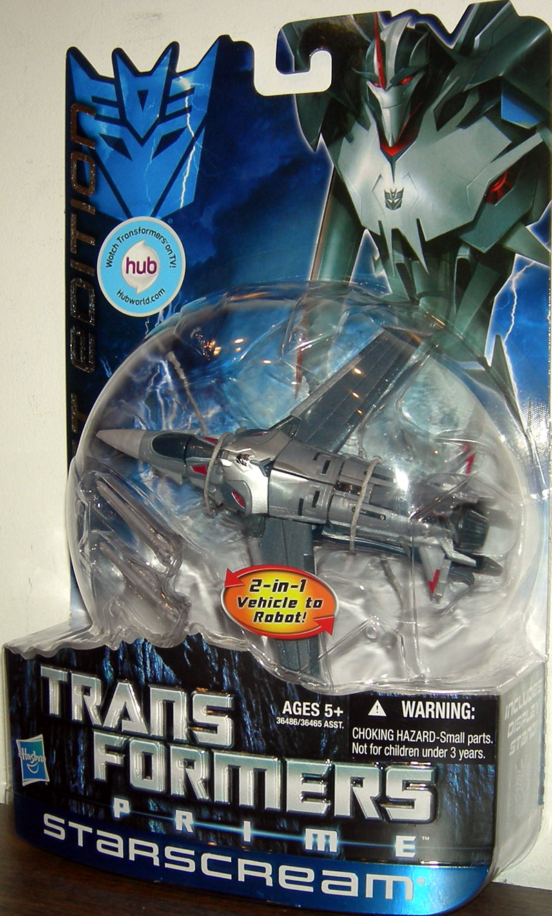 Starscream (Prime, First Edition)