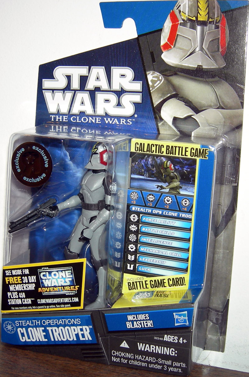 Stealth Operations Clone Trooper (Toys R Us Exclusive)