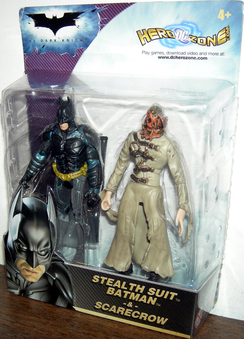 Stealth Suit Batman & Scarecrow 2-Pack (The Dark Knight)