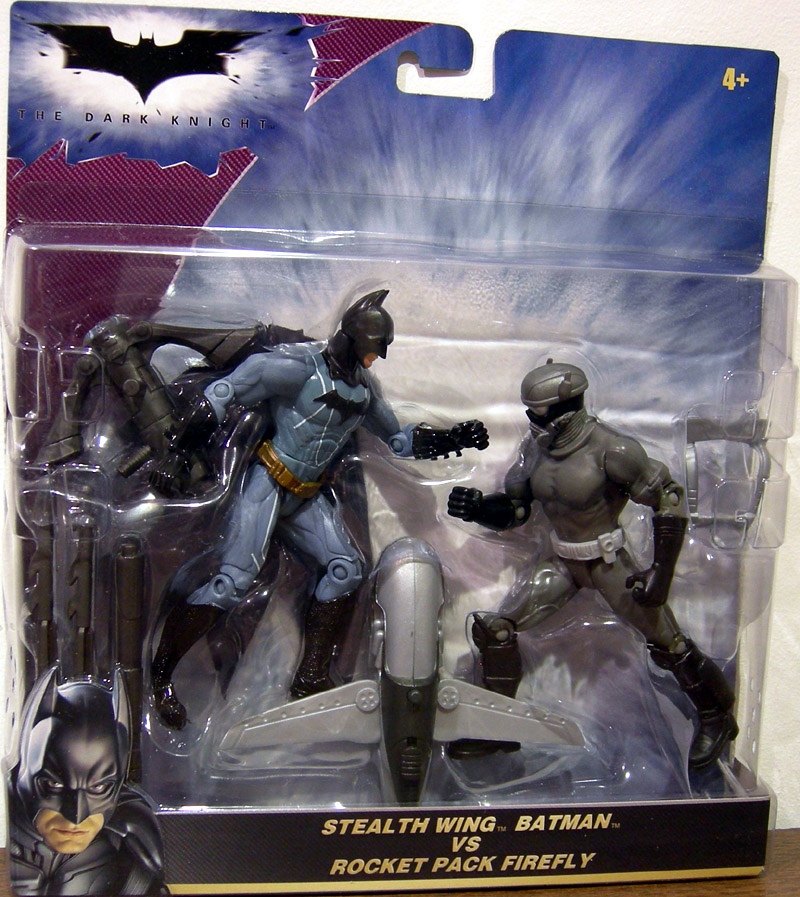 Stealth Wing Batman vs. Rocket Pack Firefly (The Dark Knight)
