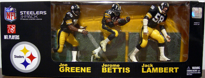 Pittsburgh Steelers Legends 3-Pack