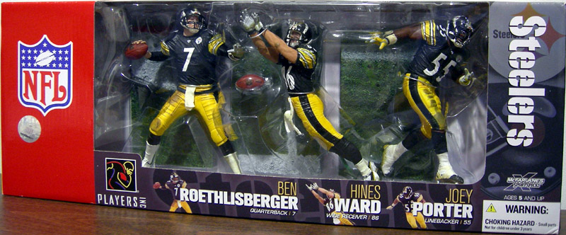 Pittsburgh Steelers 3-Pack