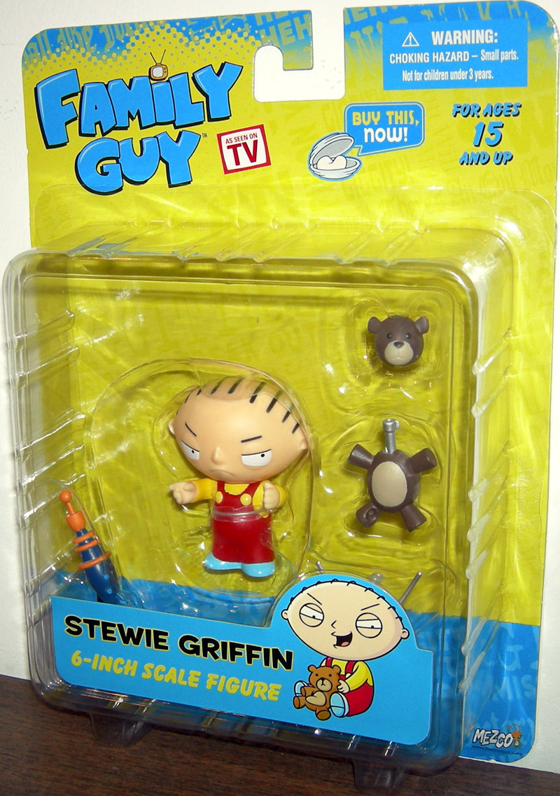Family Guy Toys Toywiz : Stewie griffin re issue