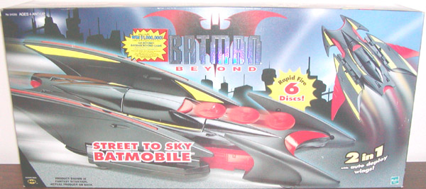 Street to Sky Batmobile (Batman Beyond)