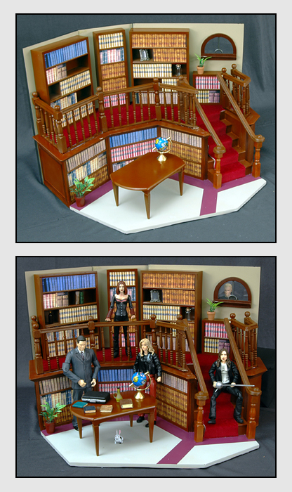 Sunnydale Library Playset
