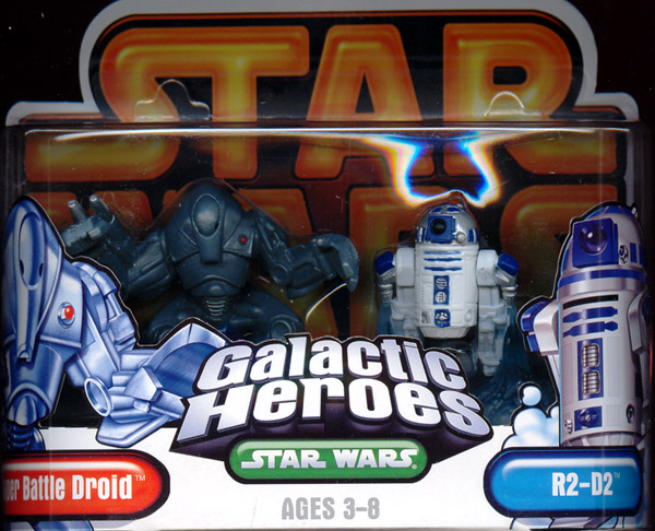 Super Battle Droid & R2-D2 (Galactic Heroes)