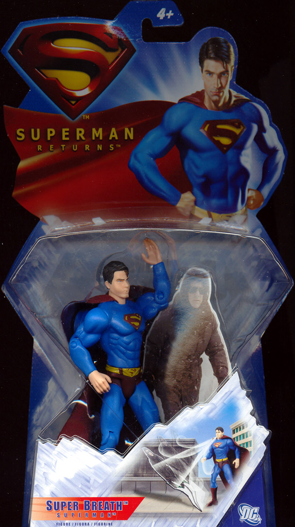 Super Breath Superman