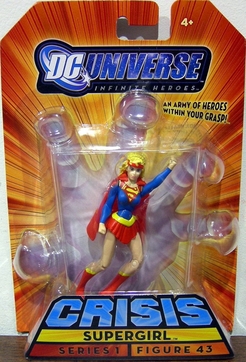 Supergirl (Infinite Heroes, figure 43)