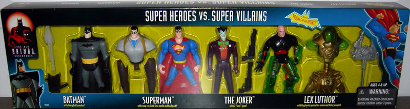 Super Heroes vs. Super Villains 4-Pack (The New Batman Adventures)