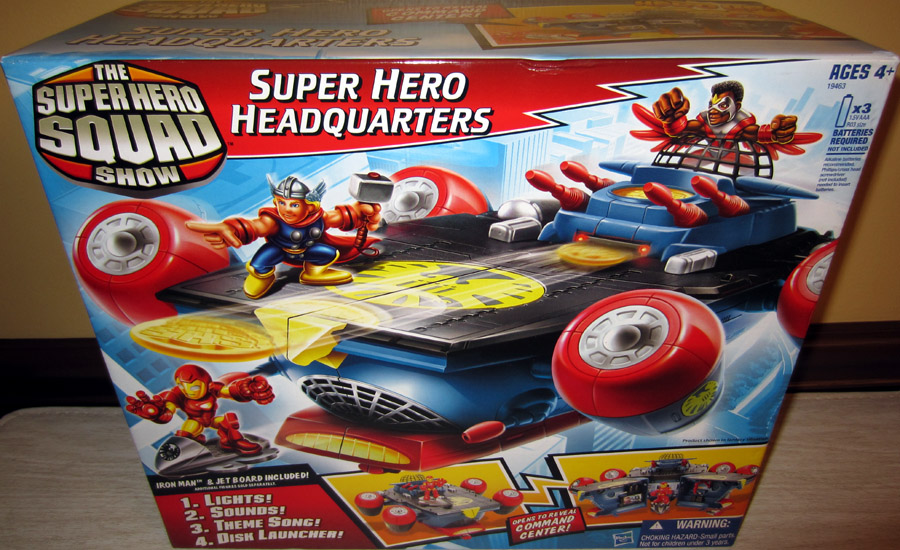 Super Hero Headquarters Command Center (Super Hero Squad)