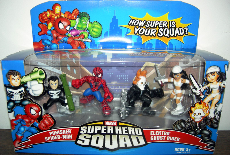 Super Hero Squad 4-Pack