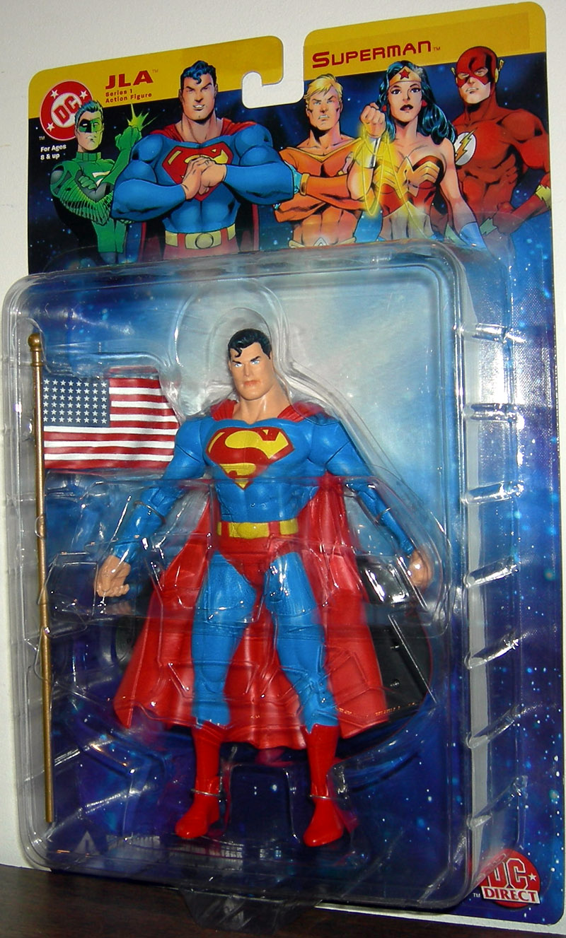 Superman (DC Direct JLA Series 1)