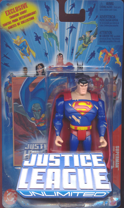 Superman (Justice League Unlimited, battle damaged)