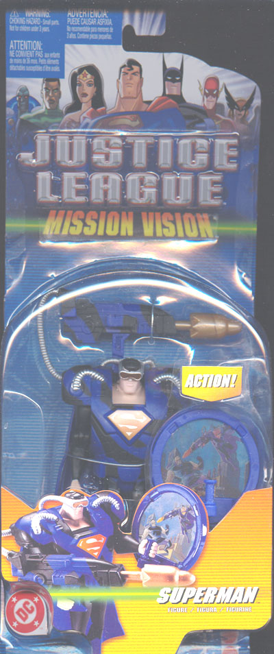 Superman (Mission Vision) repaint