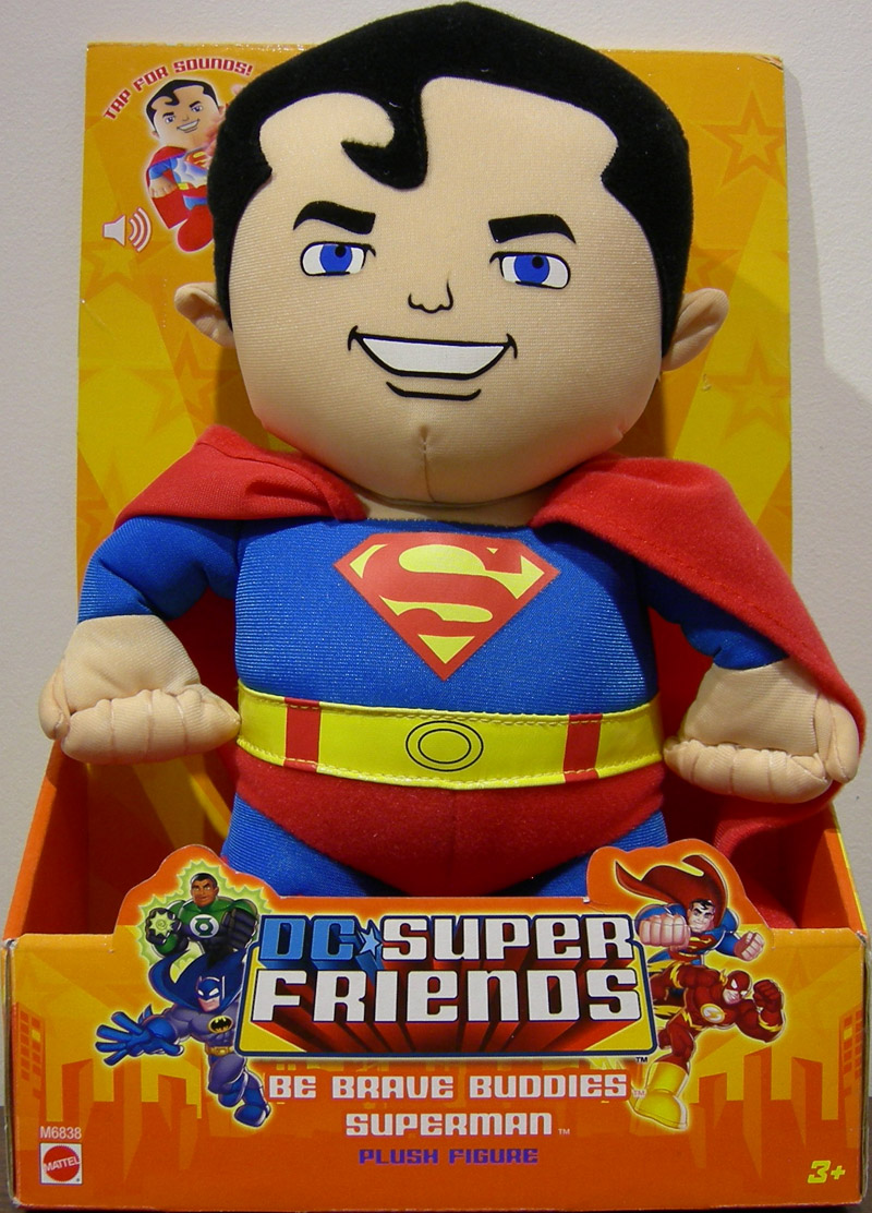 Superman plush figure (Be Brave Buddies)