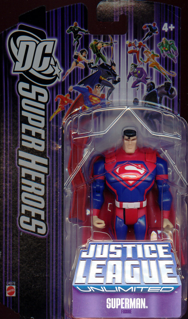 Superman (Justice League Unlimited, with steel beam)