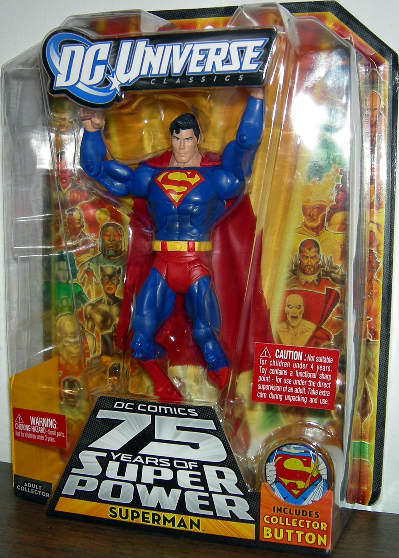 Superman (DC Universe Classics, 75 Years Of Super Power)