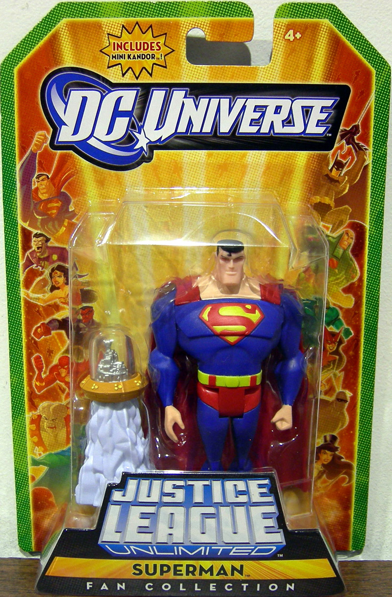 Superman (Fan Collection with mini Kandor)