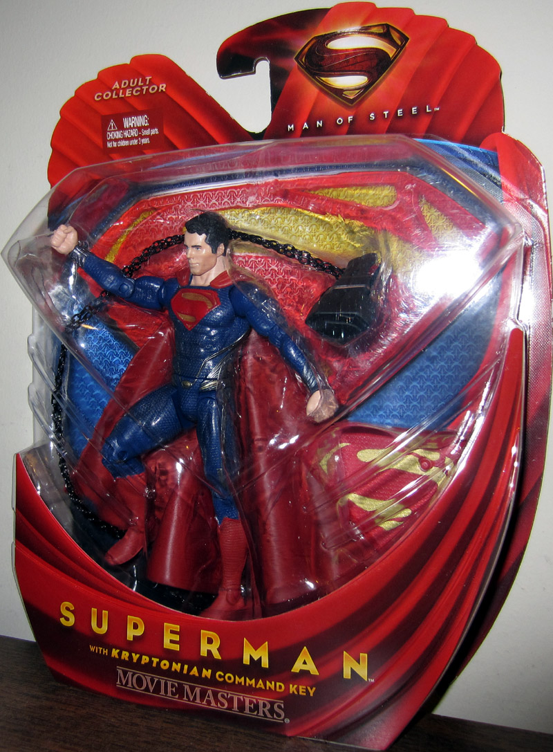 Superman with Kryptonian Command Key (Movie Masters)