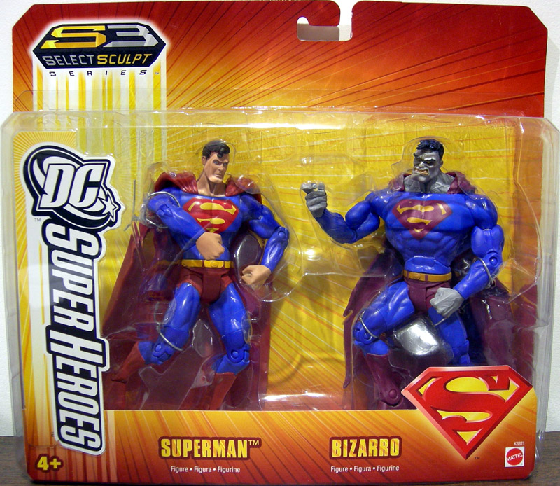 Superman vs. Bizarro (DC SuperHeroes)