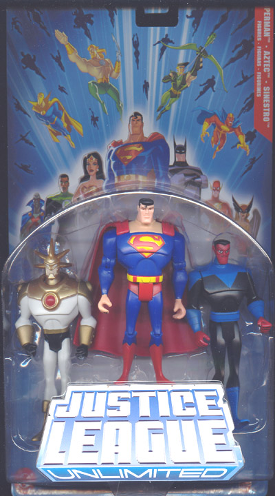 Superman, Aztec & Sinestro 3-Pack (Justice League Unlimited)