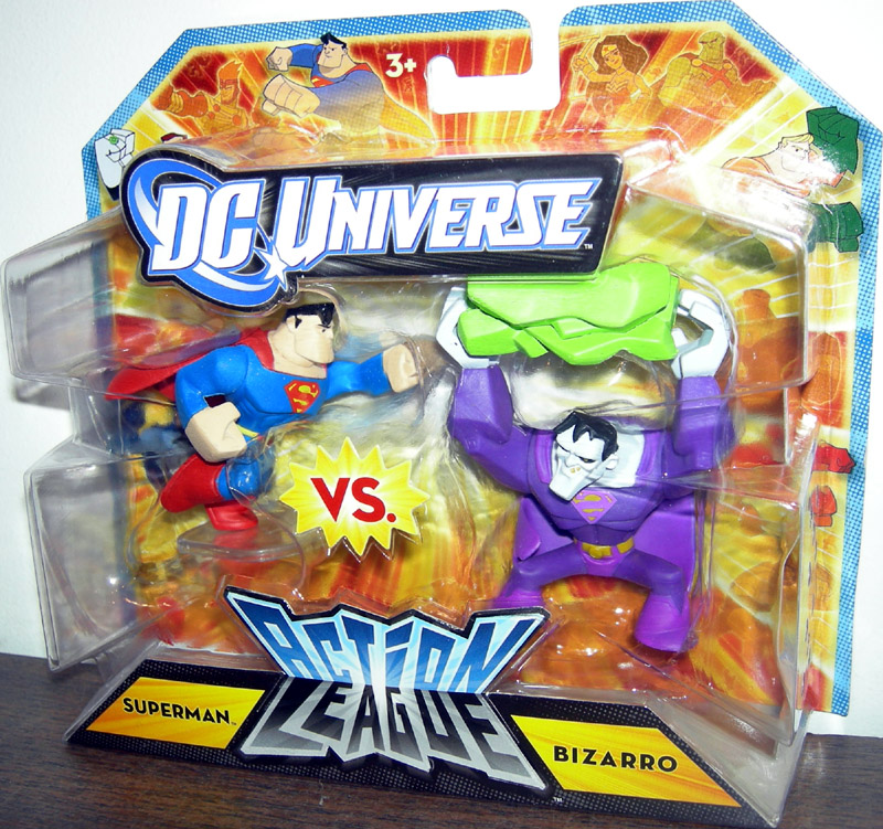 Superman vs. Bizarro (Action League)