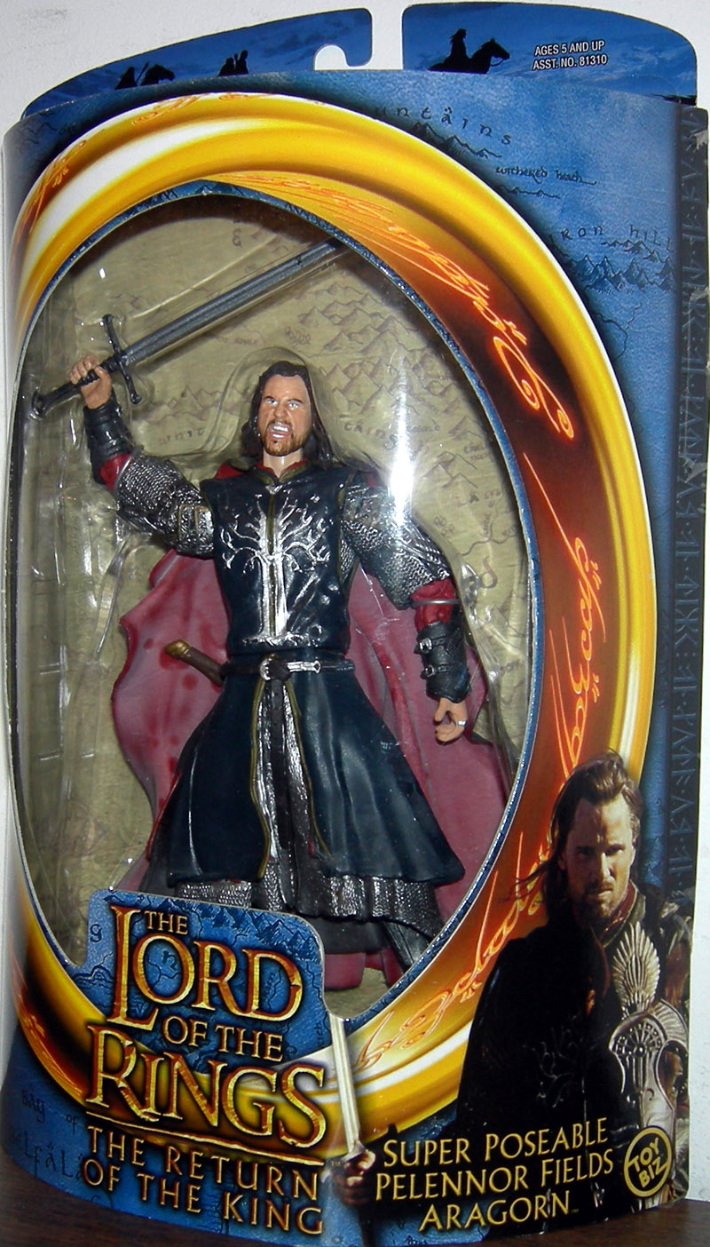 Super Poseable Pelennor Fields Aragorn