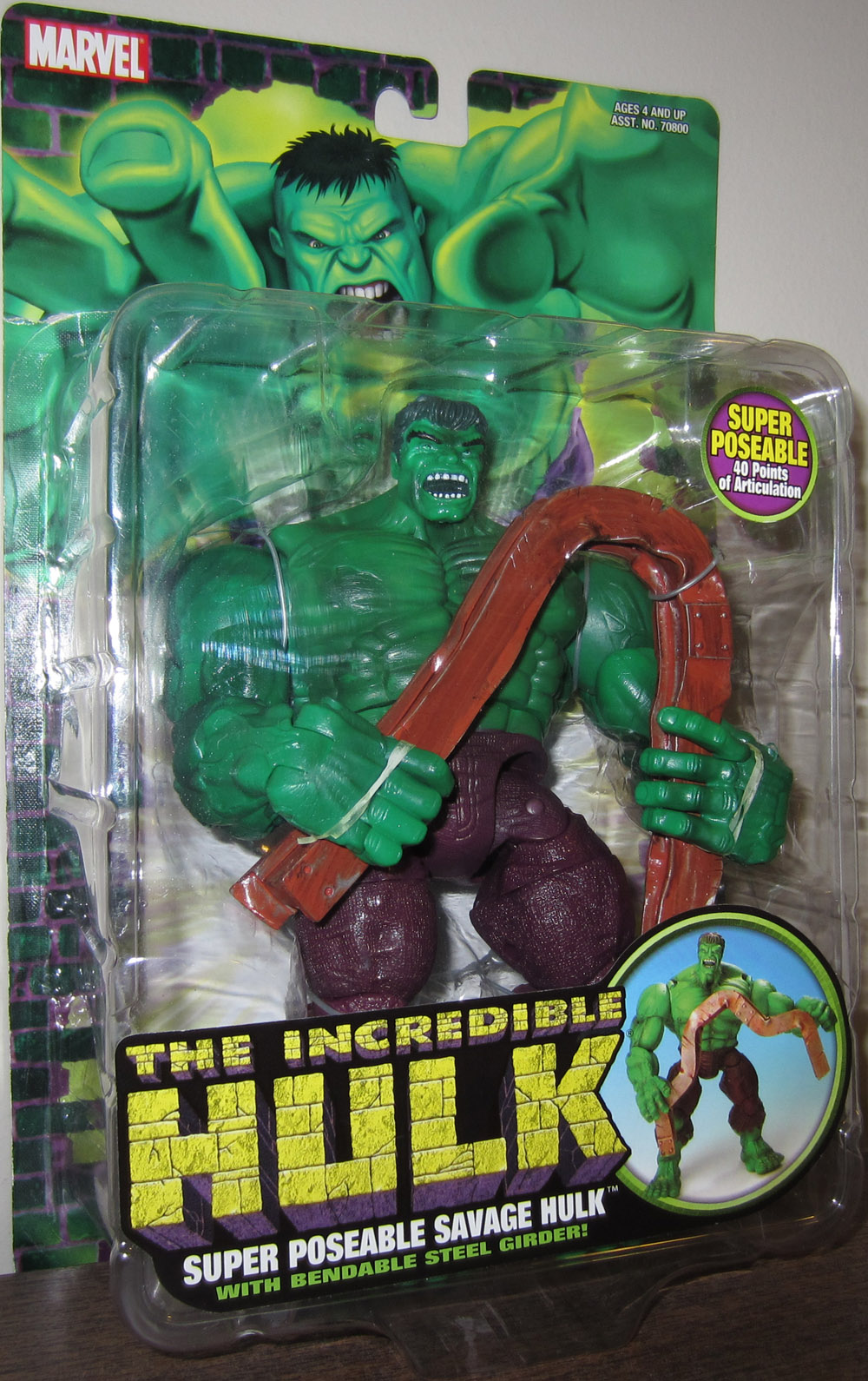 Super Poseable Savage Hulk