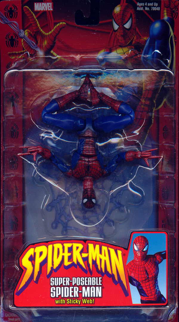 Super-Poseable Spider-Man (Classic)