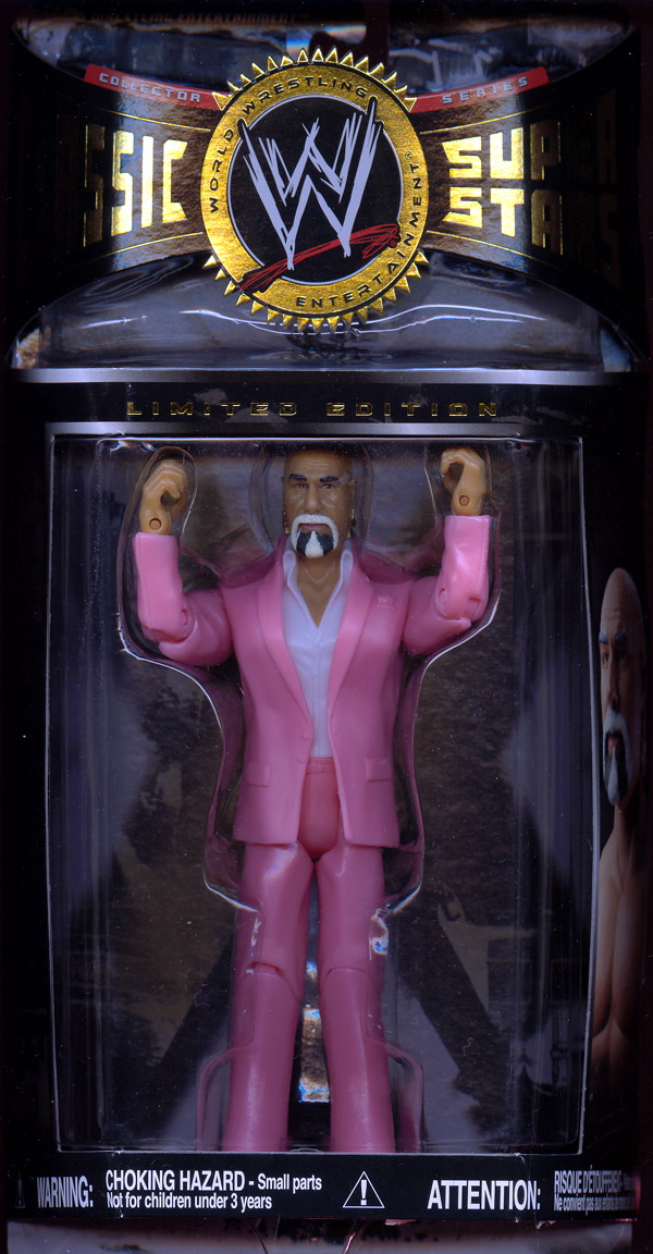 Superstar Billy Graham, pink suit