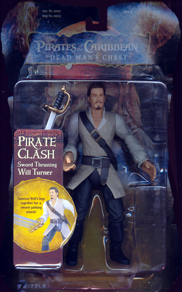 Sword Thrusting Will Turner