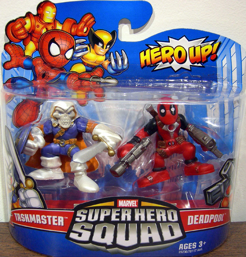 Taskmaster & Deadpool (Super Hero Squad)
