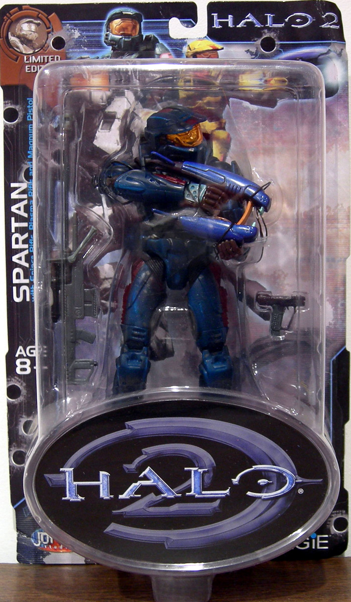 Teal Spartan (Halo 2, Limited Edition, Battle Damaged)