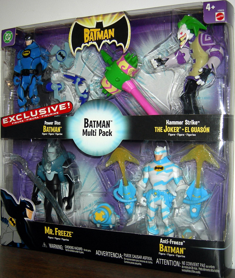 Batman Multi Pack, with Exclusive Power Disc Batman (The Batman)