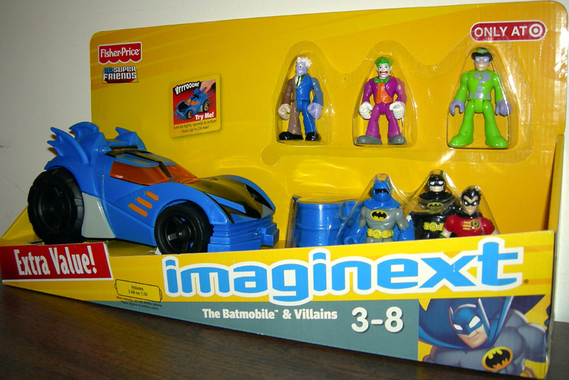 The Batmobile & Villains (Imaginext)