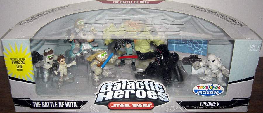 The Battle of Hoth 9-Pack (Galactic Heroes)