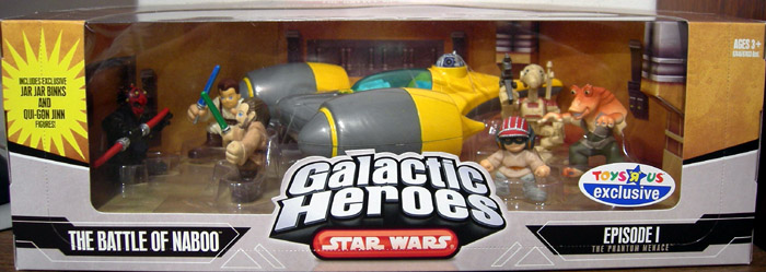 The Battle of Naboo 7-Pack (Galactic Heroes)