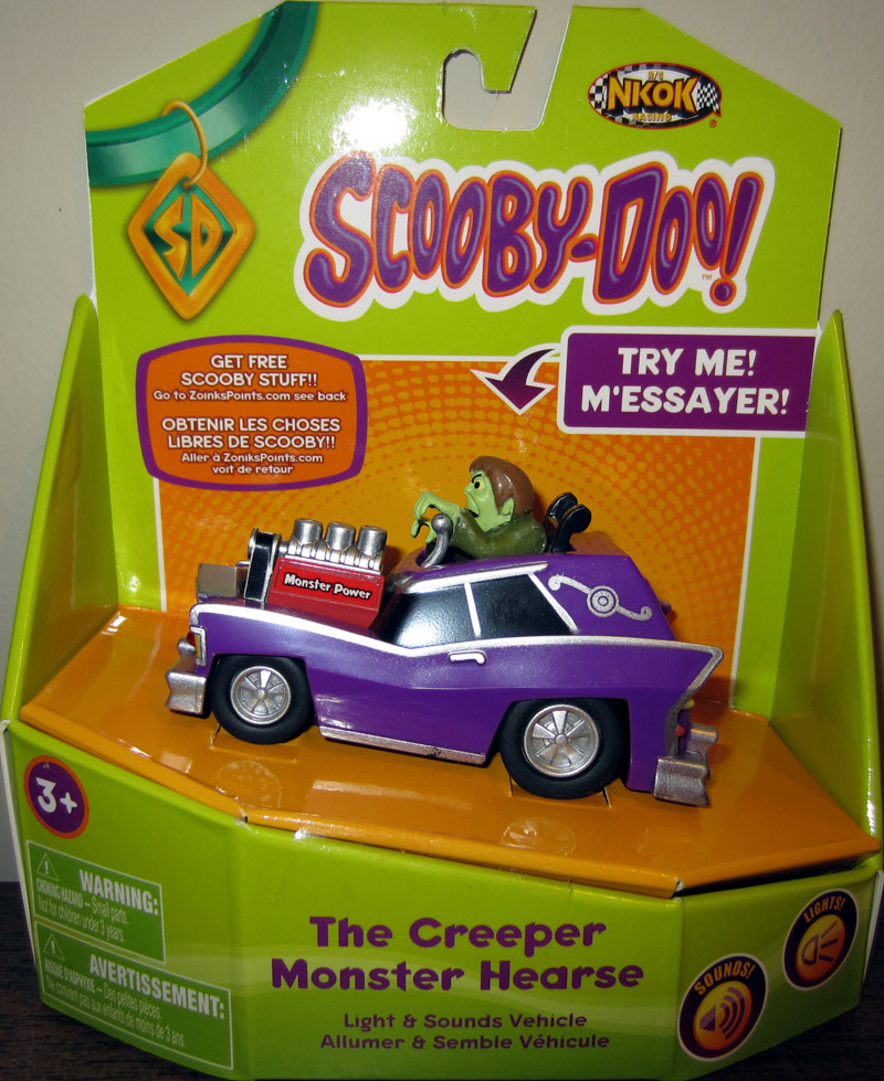 The Creeper Monster Hearse