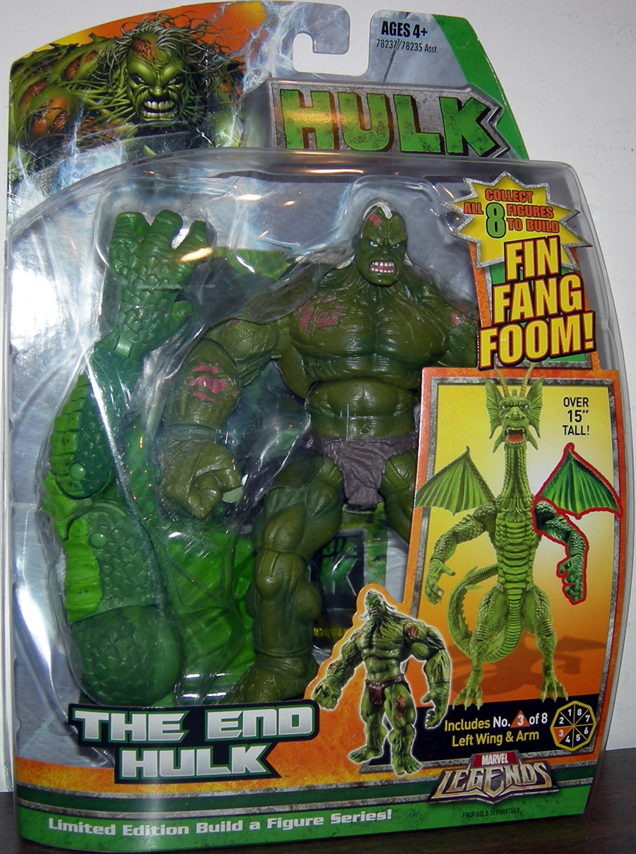 The End Hulk (Marvel Legends Fin Fang Foom series)