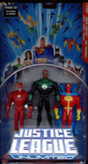 The Flash, Green Lantern & Red Tornado 3-Pack (Justice League Unlimited)