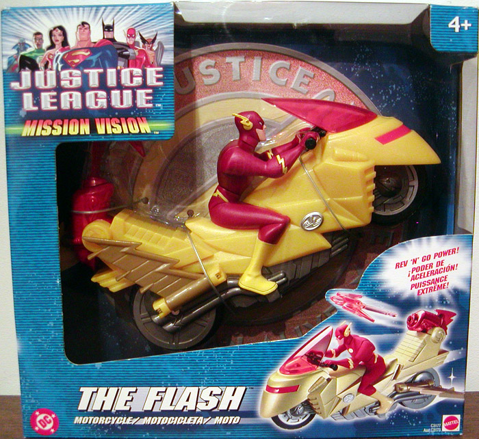 The Flash Motorcycle (Justice League Mission Vision)