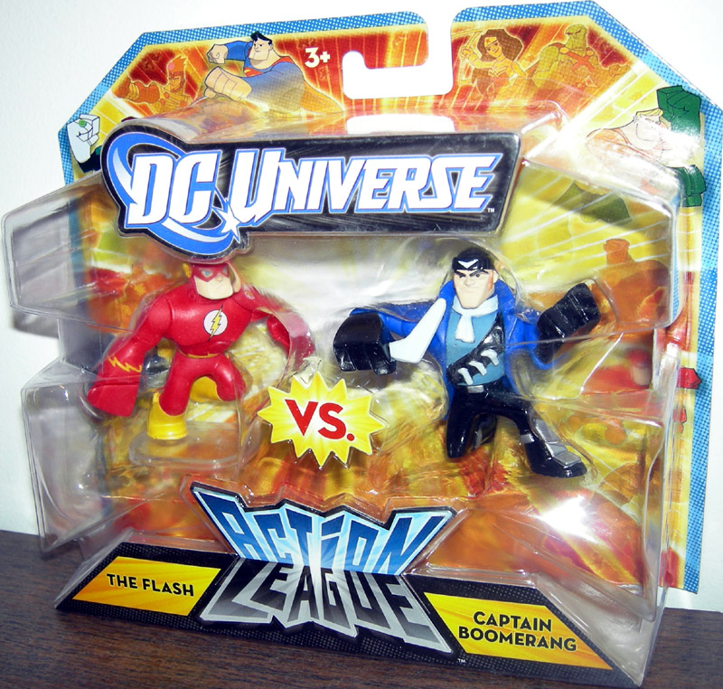 The Flash vs. Captain Boomerang (Action League)