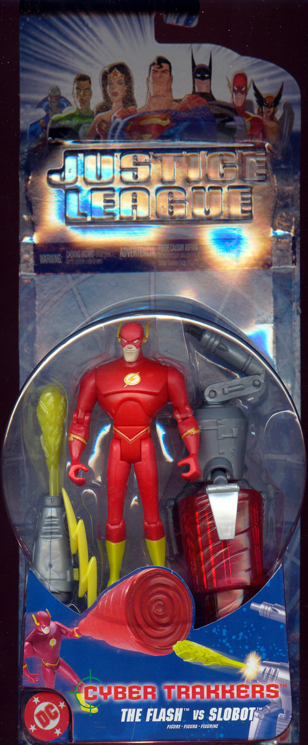 The Flash vs. Slobot (Cyber Trakkers)