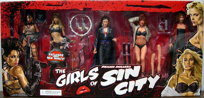 The Girls of Sin City 5-Pack