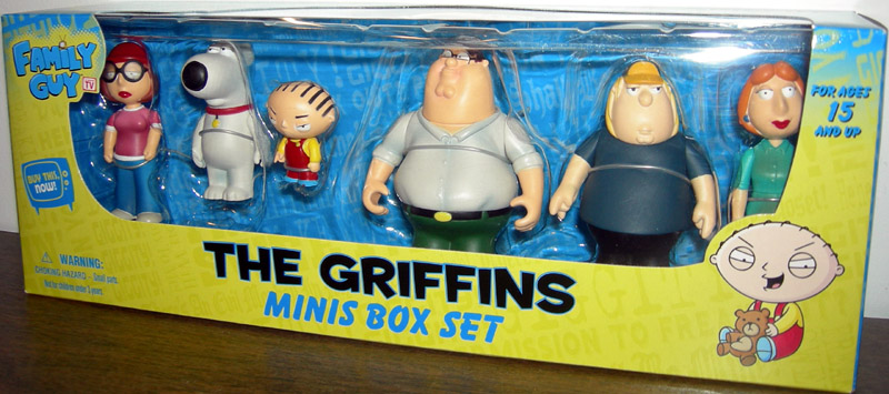 Family Guy Peter Toy : The griffins minis box set