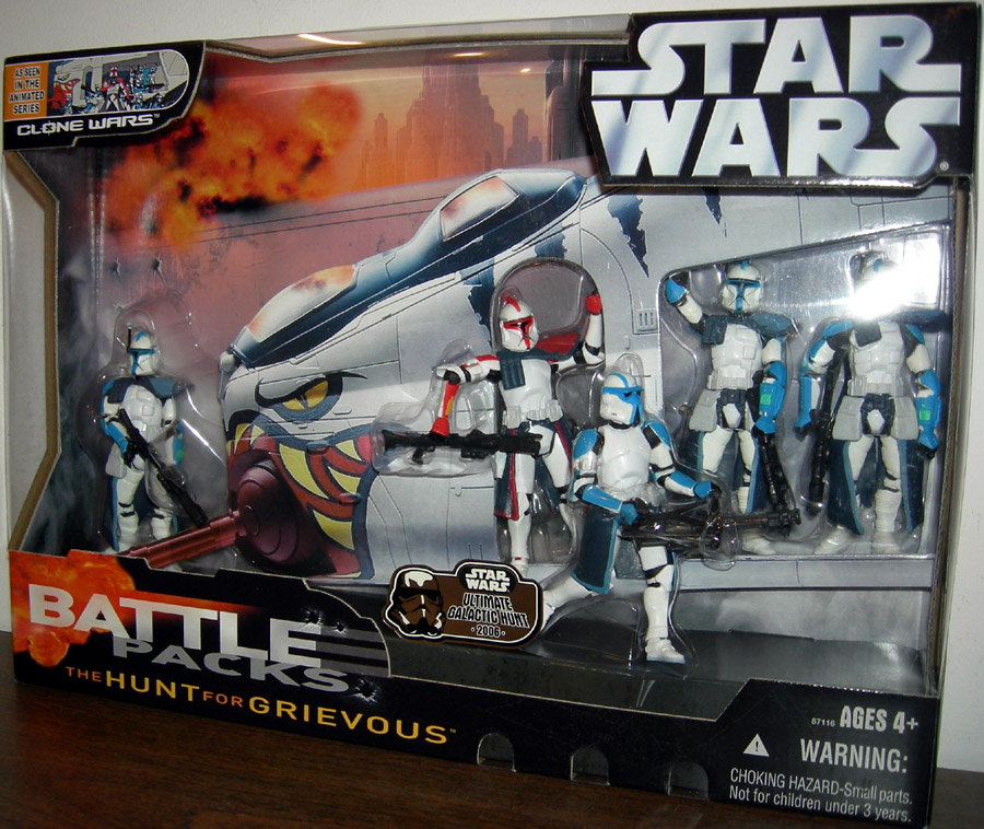 The Hunt For Grievous Battle 5-Pack