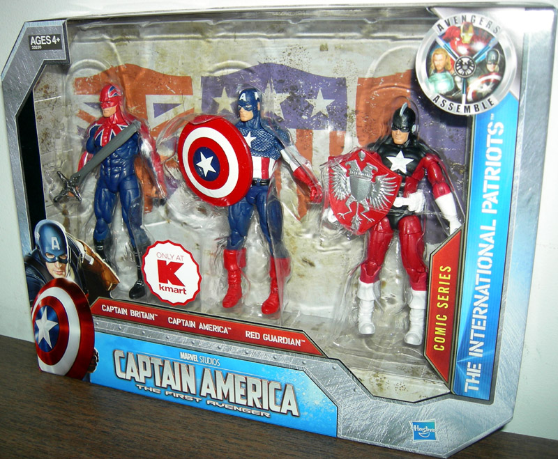 The International Patriots 3-Pack (Kmart Exclusive)