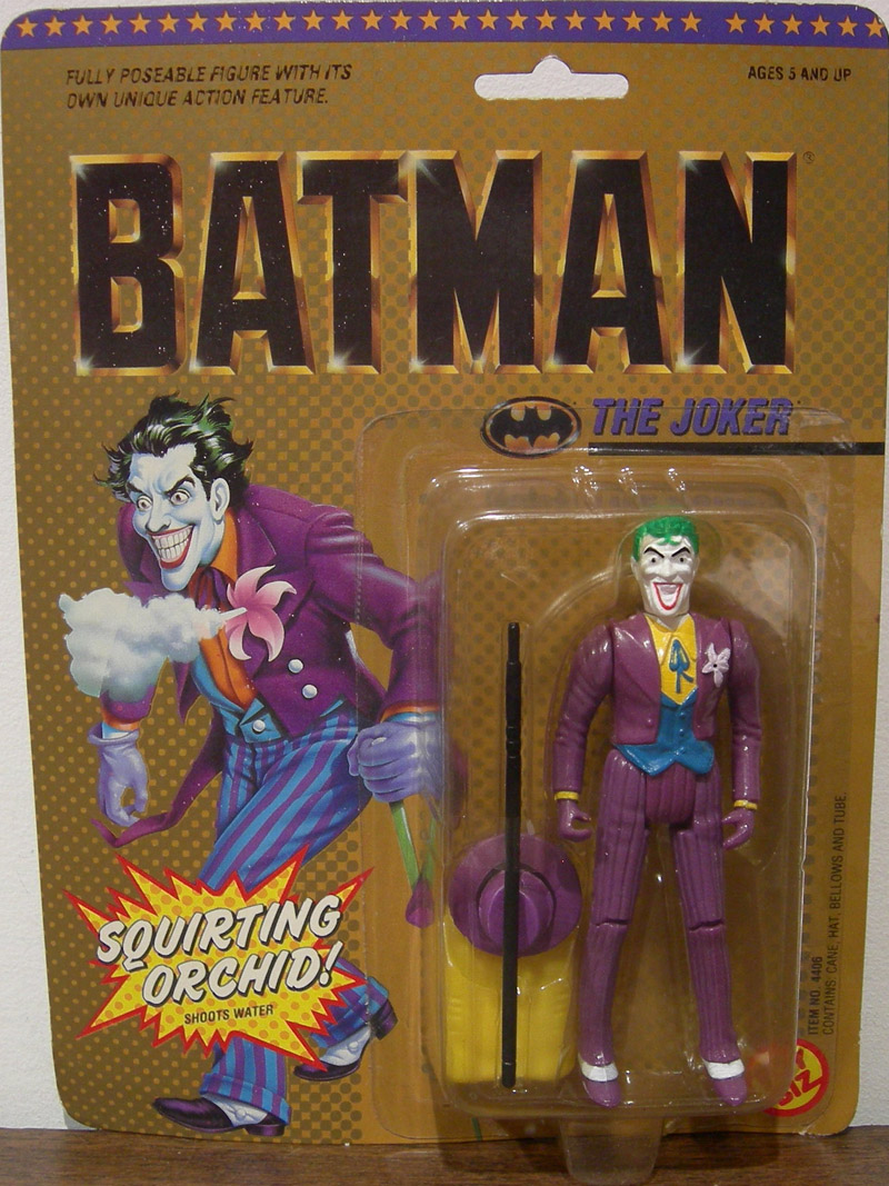 The Joker (DC Super Heroes with hair curl)
